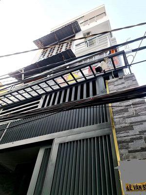 nhà Lê Văn Sỹ Q3 HXH 4 tầng BTCT 6PN nở hậu 11.2Tỷ
