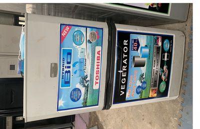 tủ lạnh Toshiba quạt gió, nguyên zin ga lốc