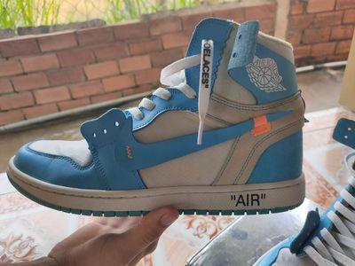 Giày sneaker jordan 1 chicago size 43 màu xanh