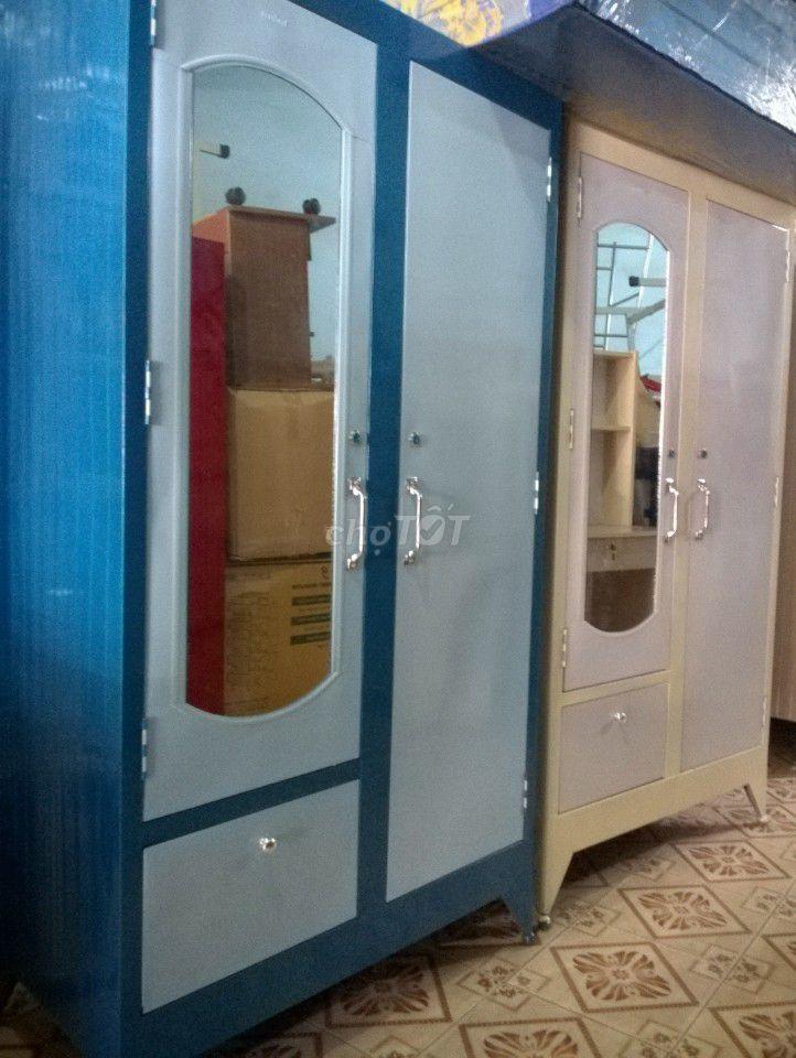tủ sắt mẫu mới, sản xuất tại xưởng