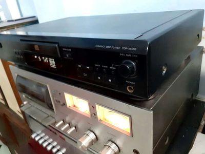 Đầu đĩa Cd sony CDP -XE500 MẮT NHẬN BÀI NHANH