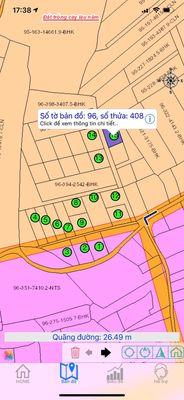 Đất Huyện Vĩnh Cửu 500m sổ riêng đường 6m dân đông