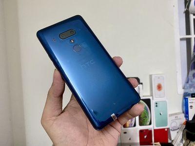HTC U12 Plus 6/64gb xanh dương lưng trong - 2 sim
