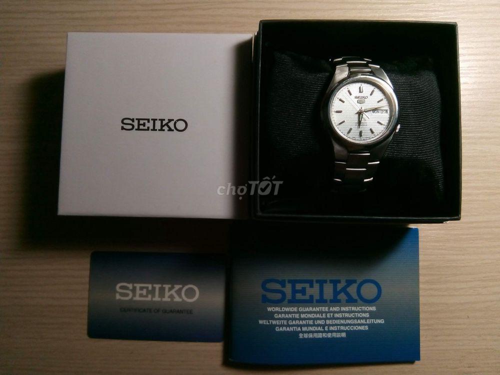 Đồng hồ cơ - Seiko 5 - Fullbox - fix còn 1tr5