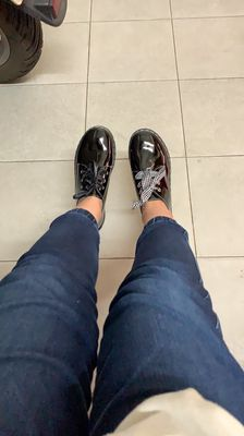 Giày oxford taobao, size 38, mới 100%