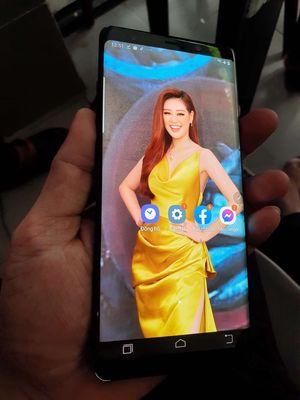 Galaxy Note.8 Đen ram 6G máy 2 sim.lưng bể xấu