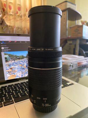 Lens Canon 75-300mm (hàng hiếm USM)