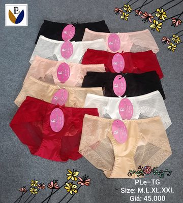 Quần lót nữ ren lưới Ple. Made in Việt Nam