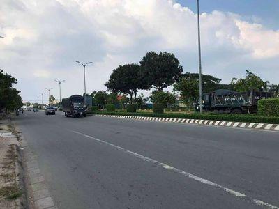 Mặt tiền quốc lộ 60 xã Tam Phước huyện Châu Thành