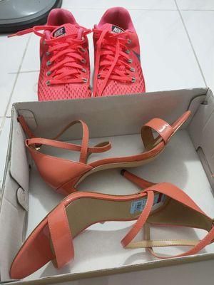 Giầy Michael kors cao 7p màu cam,giầy  Nike  cam