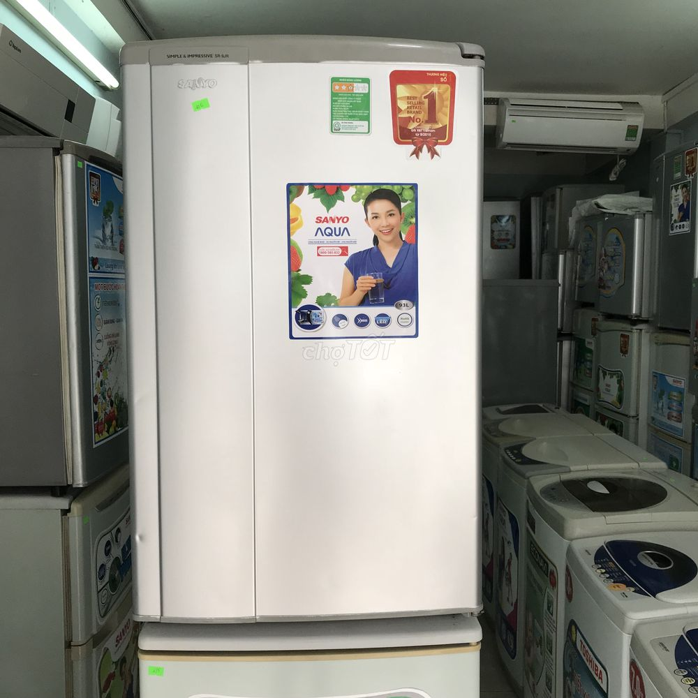 Tủ lạnh SANYO 93.1l,bao xài lỗi đổi mới 10 ngày