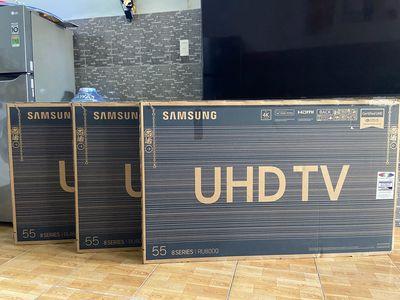 smart tivi samsung 55in ru8000 new bảo hành 2 năm