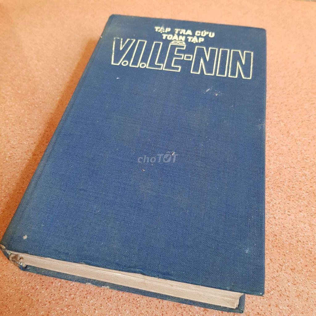 Sách cổ Tập Tra cứu V.I.Lê-nin toàn tập 1978