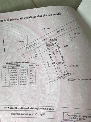 cần bán gấp nhà+ đất mặt tiền đ 28 cách BV Q2,200m