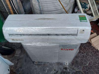 Máy lạnh Sanyo 1HP lạnh nhanh chạy êm ít hao điện