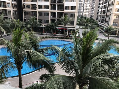 Căn hộ 2N2WC 69m2 bán 1,8 tỷ view bể bơi tại VHOCP