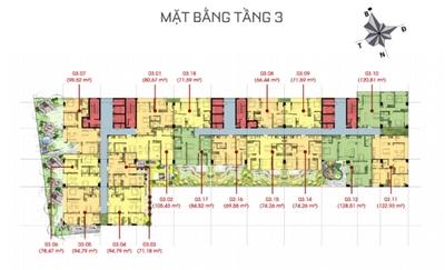 Chung cư Sunny Plaza 170m² 3PN