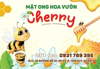 Mật Ong Nguyên Chất Cherry