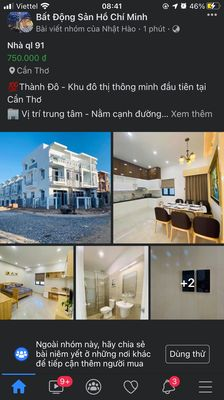 Căn hộ dịch vụ, mini Quận Ô Môn 100m² 3 PN