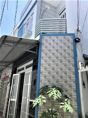 Nhà đẹp, Hẻm 45 Bình Tiên, P7,Q6: trệt, 1lầu, 73m2