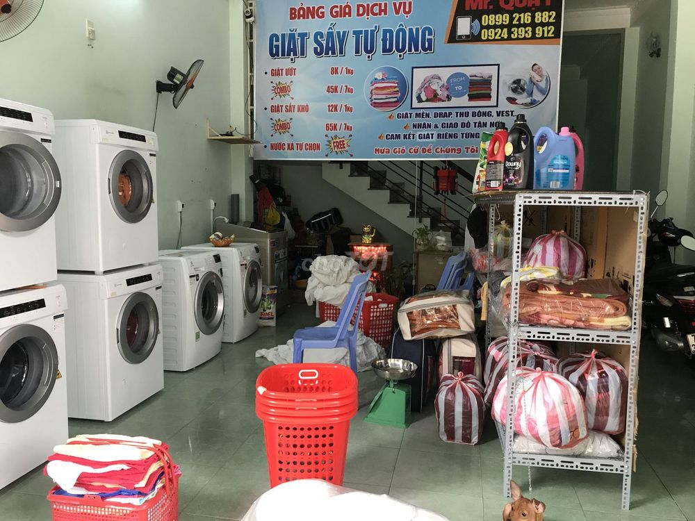 Giặt sấy hấp Mr Quậy
