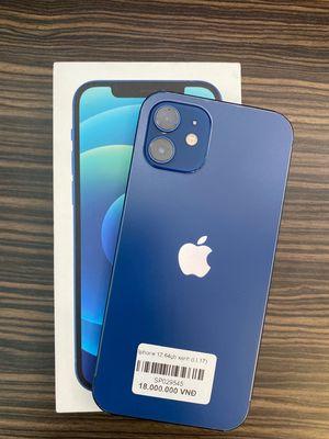 Iphone 12 64Gb Xanh dương Quốc tế Pin 100%