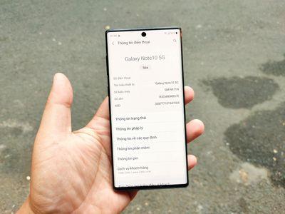Samsung Galaxy Note 10 5G   zil áp 12/256 GL