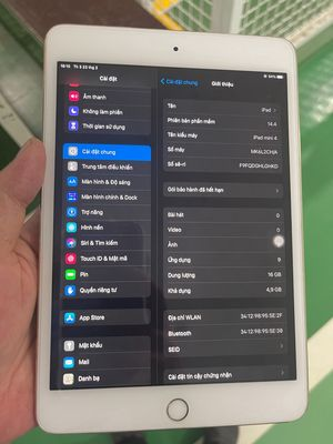 Bán Ipad mini 4 16G only wifi
