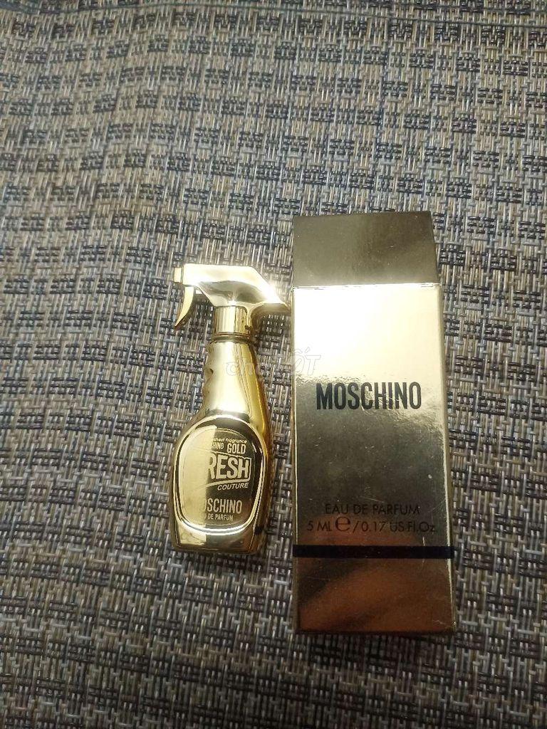 0354819862 - Gold Fresh CoutureMOSCHINO.Mini 5ml