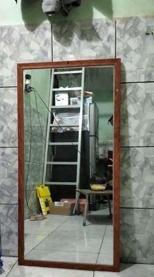 Gương treo tường gỗ