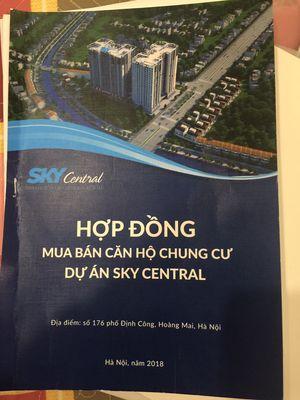 Chung cư Sky Central - 176 Định Công 72m² 2PN