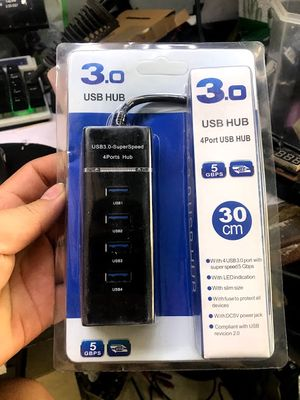 BỘ CHIA USB 4 CỔNG CÓ CÔNG TẮC( HUP 4 PORT)