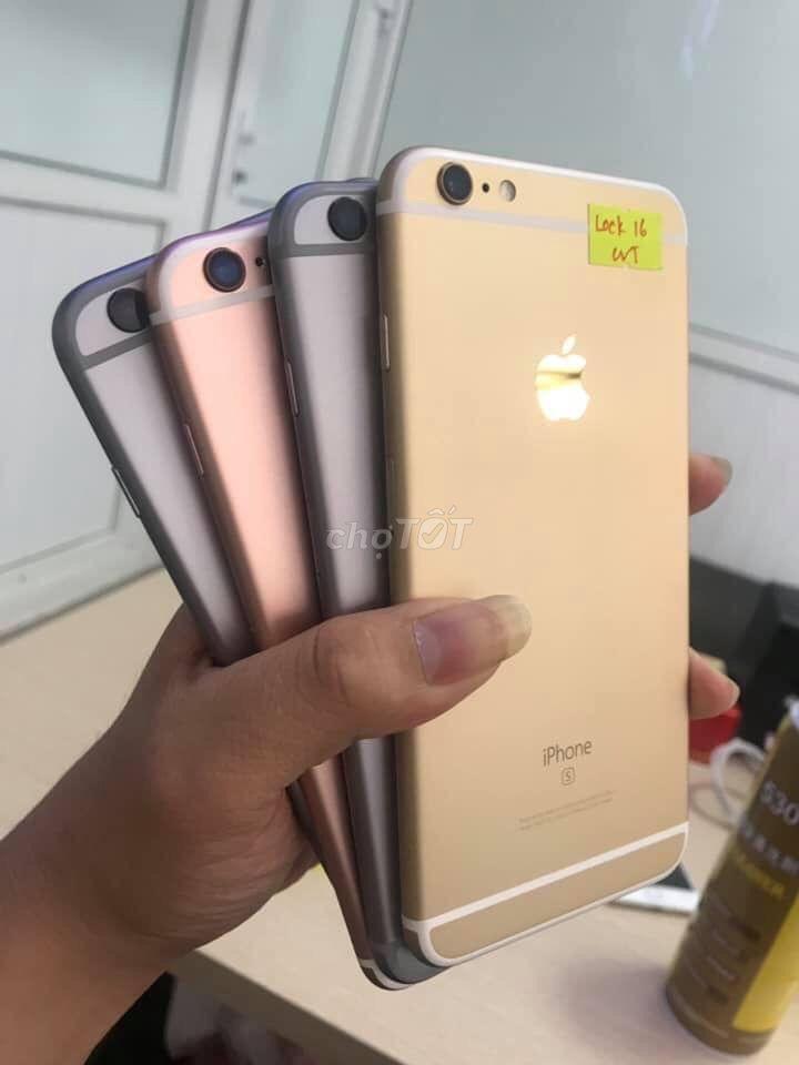 IPHONE 6S LOCK 16GB ĐỦ MÀU ➖TRẢ GÓP 0%