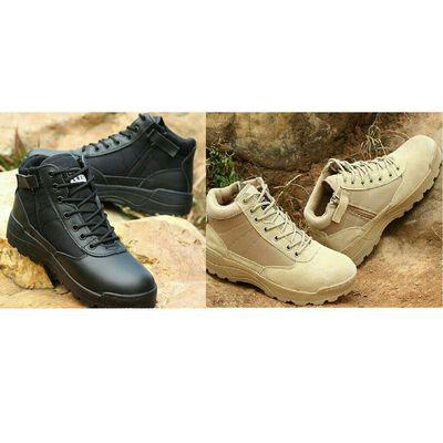 Giày phượt,giày leo núi địa hình swat cổ lửng