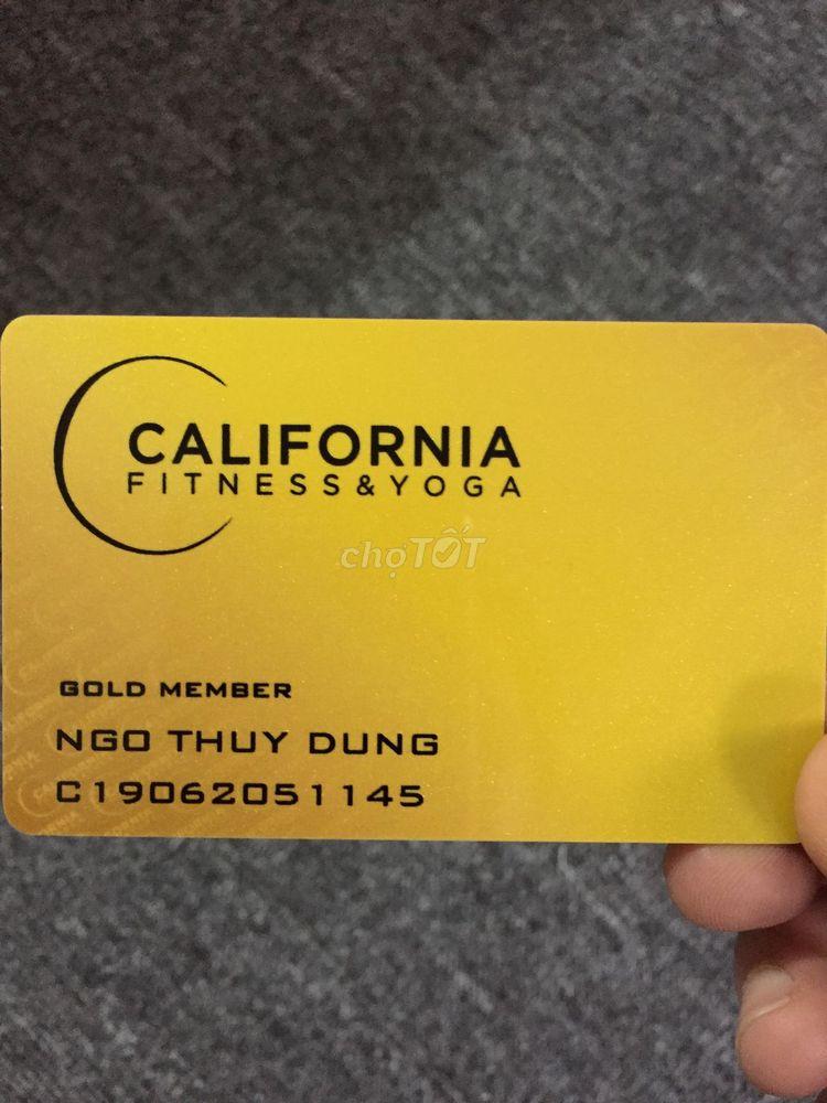 Nhượng thẻ Gym California