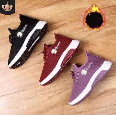 Giày sneaker nữ hoa cúc đủ size từ 36-40
