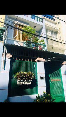 Nhà  trệt lầu 3,11m x13m Hẻm 6m Bình Tiên quận 6