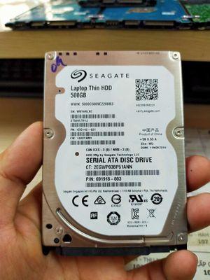 Ổ cứng HDD 500GB laptop mới đẹp cho người cần