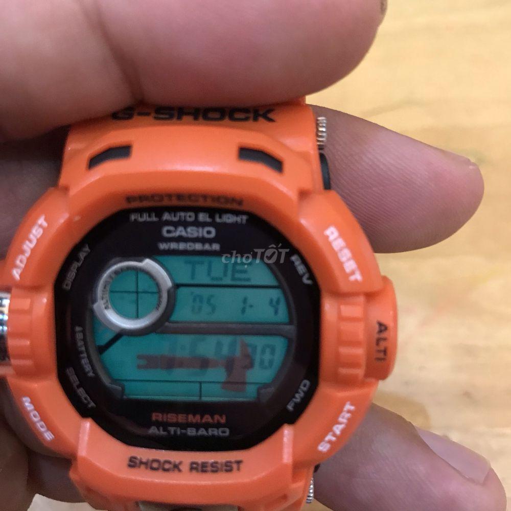 Gshock riseman G9200R dùng pin năng lượng ánh sáng