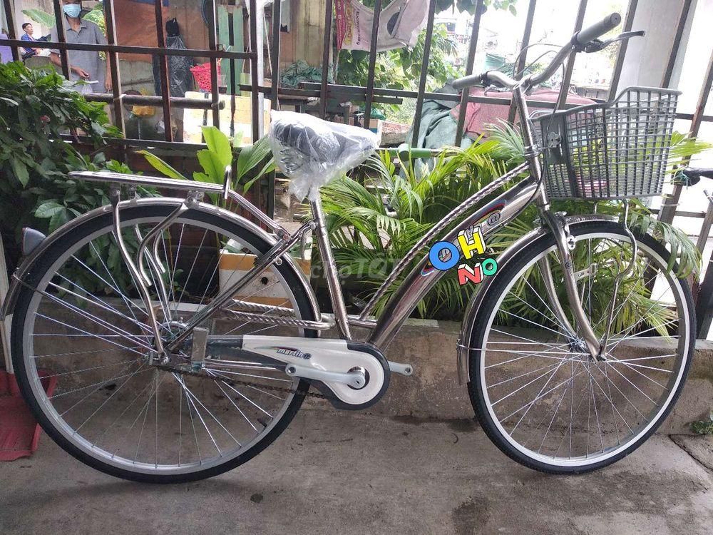 Xe đạp @ inox marxin cao cấp NEW bảo hành 2 năm