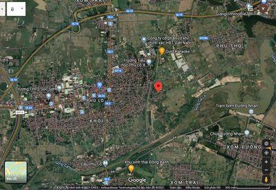 bán 200m2 cho KH mua đất làm biệt thự ở xã Phù Lỗ