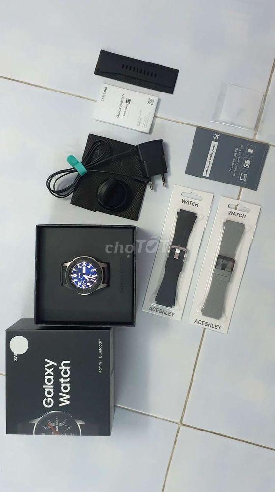 Galaxy Watch 46mm fullbox chính hãng BH T7/2020