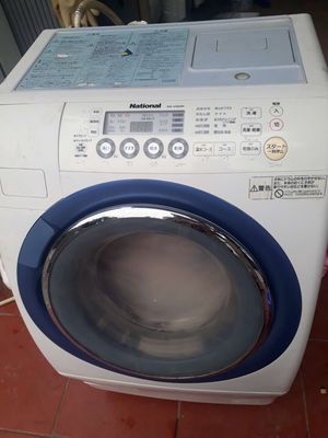 máy giặt Nationa nhật điên 100v giặt 9kg , sấy 6kg