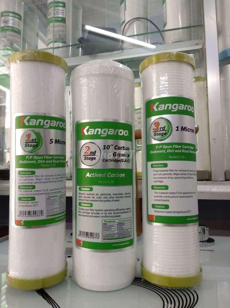 0337884883 - Bộ lõi lọc nước KANGAROO 1,2,3
