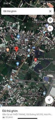 Bán đất  7*35  100% thổ cư gần Uỷ ban xã Hoà Phú