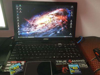 MSI GE60 2PC (i5 6GB 125SSD 750HDD GTX750)