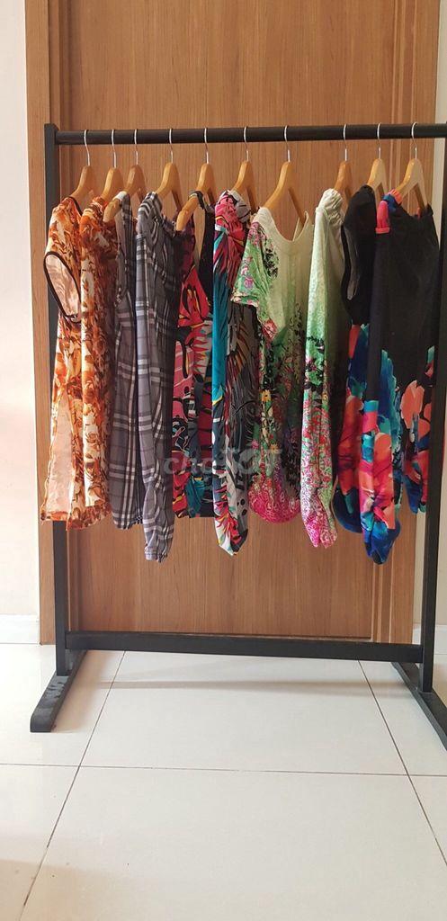 Combo 5 bộ quần áo thun lửng