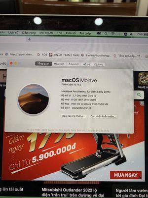 Macbook Pro 2015 mf830 i5 ( máy mượt )