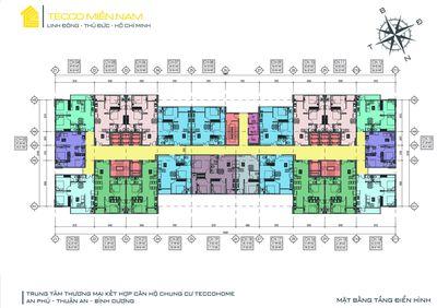 Tecco Home an phú giá chỉ 22 triệu/m2, DT: 60 m2