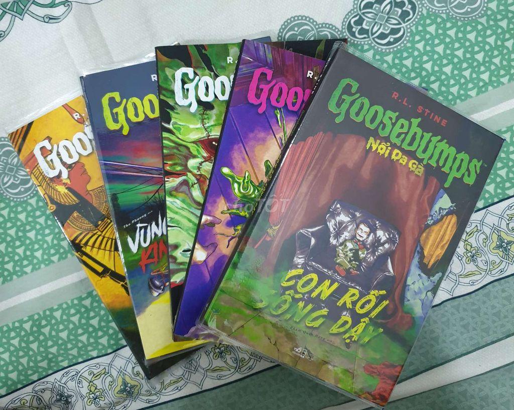 Goosebumps full 5 cuốn mới của Nhã Nam phát hành